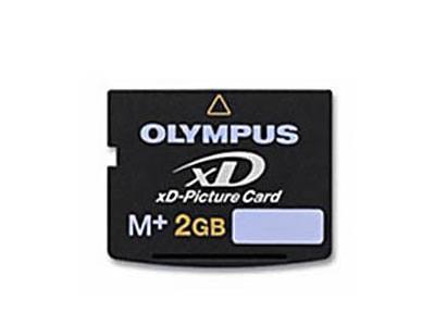 OLYMPUS 2GB M+ M PLUS XD PICTURE MEMORY CARD