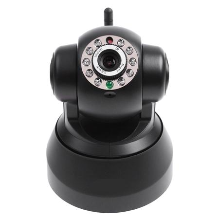 Black EasyN Wireless WIFI IR LED IP Camera Nightvision