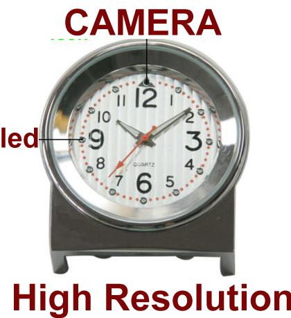 8GB 1280*960pixels Spy Mini Desk Camera Clock DVR Watch