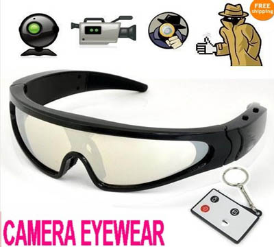New 720P HD spy cam Eyewear sun glasses camera Hidden DVR Digital Camera Eyewear
