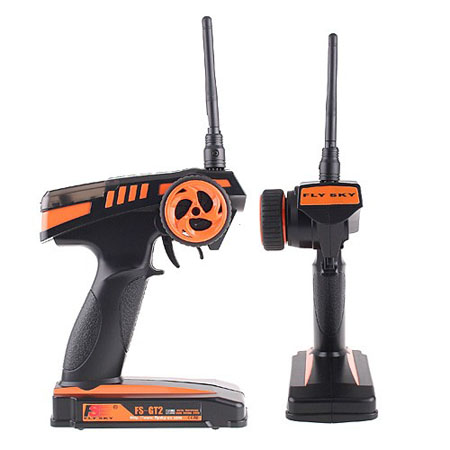 2.4G 2CH Radio Model RC   Transmitter & Receiver FS-GT2