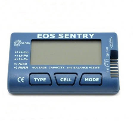 Hyperion EOS SENTRY Battery Checker