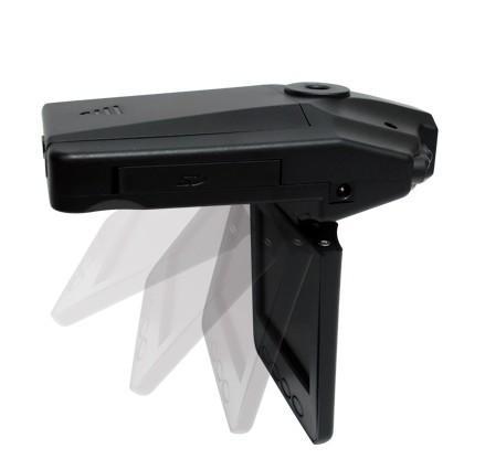 IR Car Vehicle Dash Cam Camera Rotable 270 Monitor
