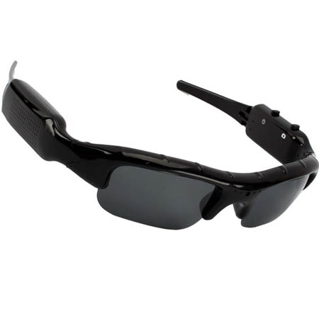 SunGlasses Ski Mini DVR Video Camera Glasses Security Action (No SPY Hidden !)