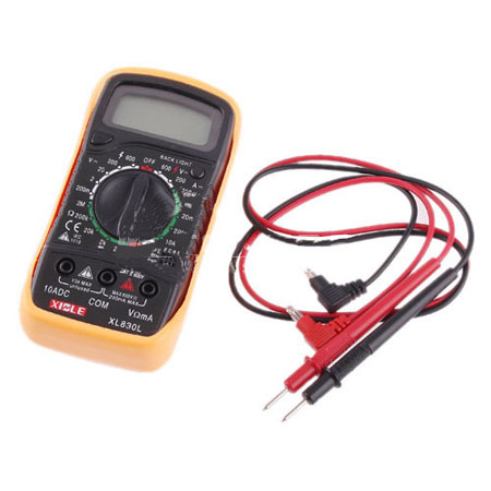 Digital LCD Multimeter Voltmeter     Ohmmeter   Ammeter OHM