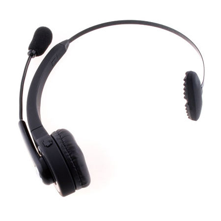 Black PS3 Wireless Bluetooth Headset For PlayStation 3