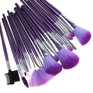 9 styles selectable Makeup   Brush Set Kit + Pouch Bag