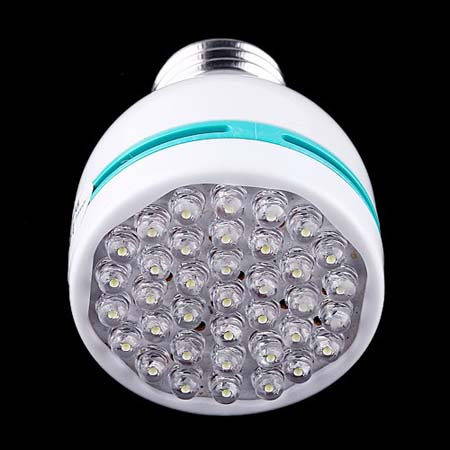 E27 2W 37 LED Screw Lamp Light Bulb Spotlight