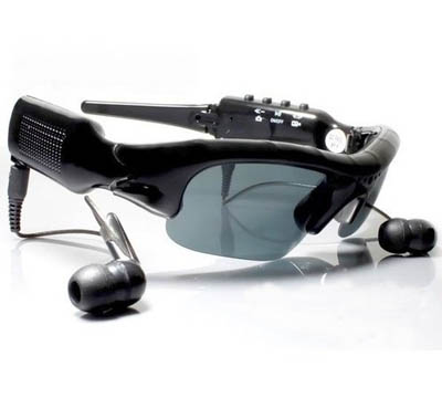 8GB Spy Sunglasses Mp3 Camera Video Recorder DVR MP3 Player Sun Glass COOL Glass
