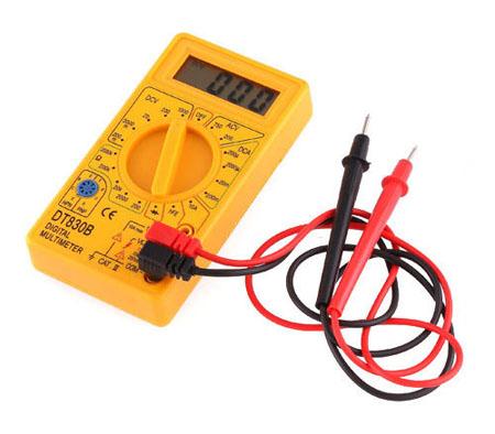 LCD Digital   Voltmeter Ammeter Multimeter AC/DC Testr Y