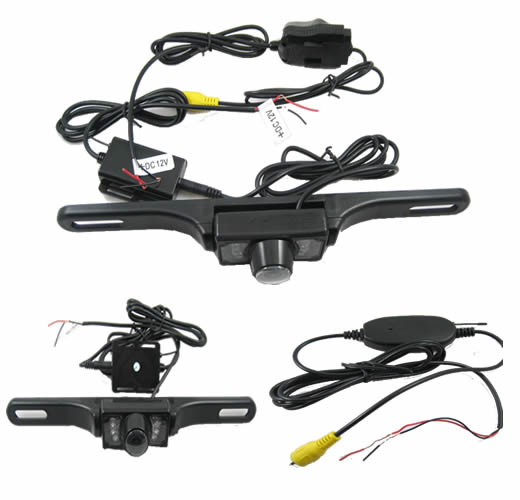 2.4G WIRELESS CAMERA CAR VEHICLE REARVIEW AV IN CABLE