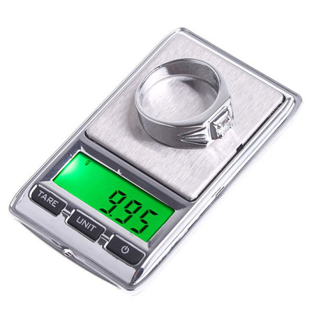0.01g x 100g Mini Digital Jewelry Pocket Scale Gram Precise Weighing LCD display