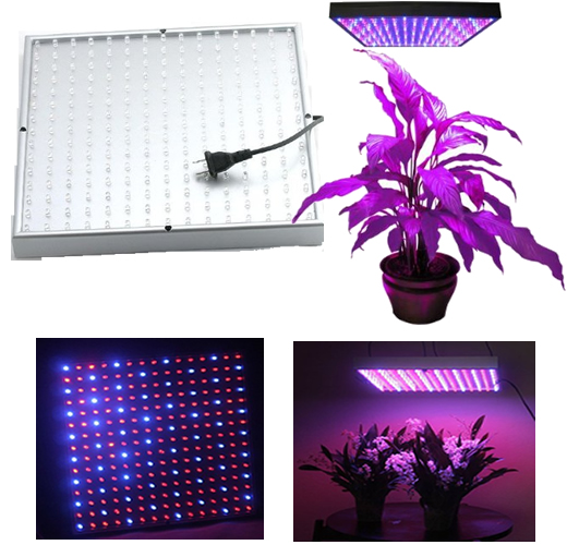 Hydroponic Lamp 225 LED Grow light Panel Red Blue