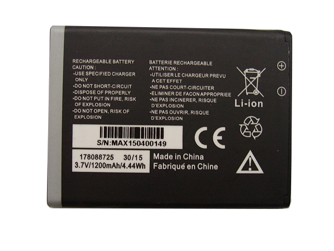 MOBIWIRE 178088725 3.7V 1200MAh/4.44Wh