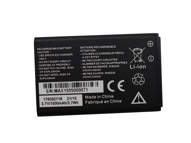 MOBIWIRE 178092716 3.7V 1000MAh/3.7Wh