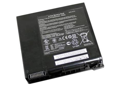 Аккумулятор / батарея (A42-G74) для ноутбука ASUS G74 G74S XR1 G74SX A1 Series,14.8v 5200mAh/8cells