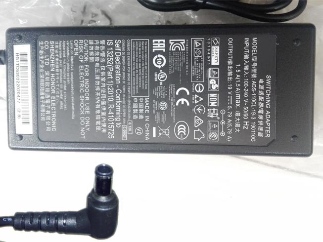 LG 110W 19V - 5.79A, 110W 100 - 240V, 50/60 Hz, 2.0A адаптеры