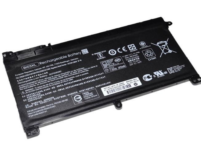 Аккумулятор / батарея (BI03XL) для ноутбука HP TPN W118,11.55V 3479mAh/41.7Wh