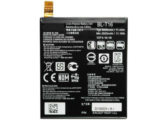 LG BL-T16 3.75V 4600mAh