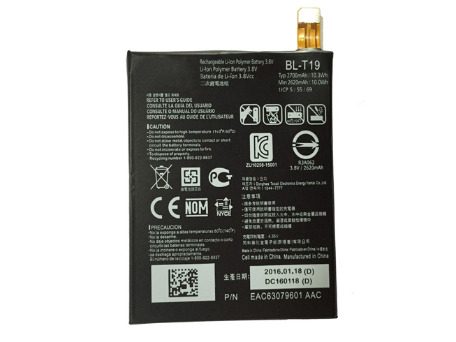LG BL-T19 3.8V 10.3WH