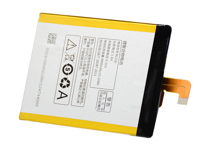 LENOVO BL226 3.8V/4.35V 4000MAH/15.20Wh