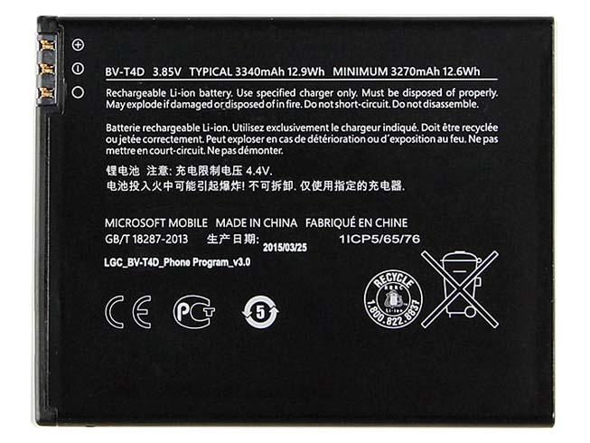 MISCROSOFT BV-T4D 3.85V 12.9Wh= 3340mAh