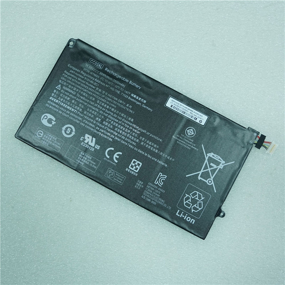 HP CC03XL 11.55V 30Wh/2600mAh