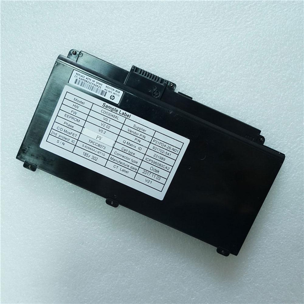 HP CD03XL 11.4V 48Wh/4212mAh