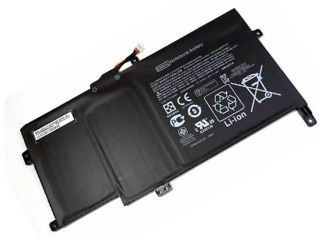 Аккумулятор / батарея (681951-001) для ноутбука HP ENVY Sleekbook 6 1000 8 Cell 60Wh,14.8V 60wh/8cell