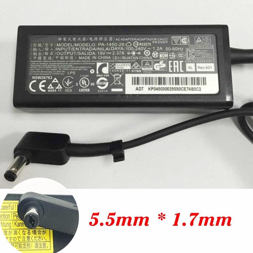 ACER A13-045N2A 19V - 2.37A 45W  100-240V ~ 1.2A 50-60Hz адаптеры