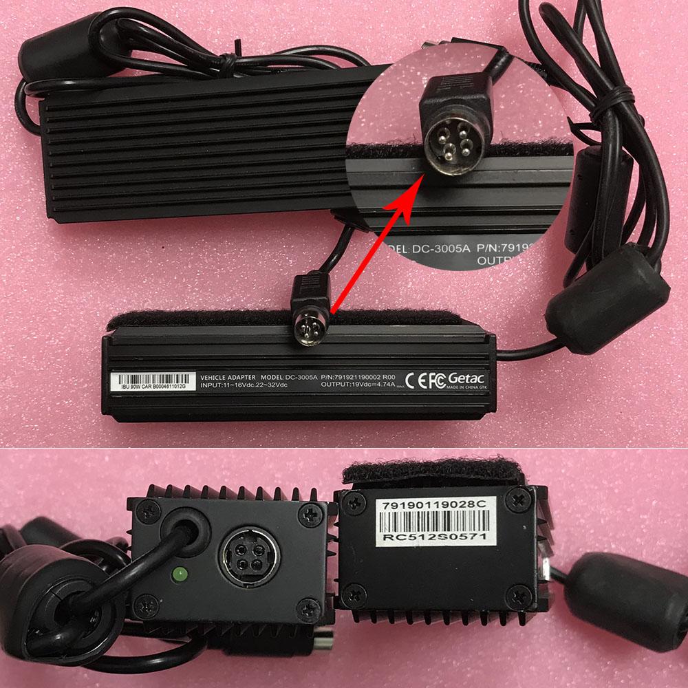 GETAC ADM-9019M 19V ~ 4.74A, 90W 100 ~ 240V   50~ 60Hz адаптеры