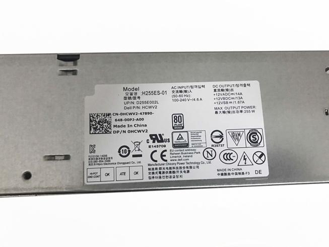 DELL HCWV2 +12VADC==/14A 100-240V ~/ 4.6A, 50-60Hz адаптеры