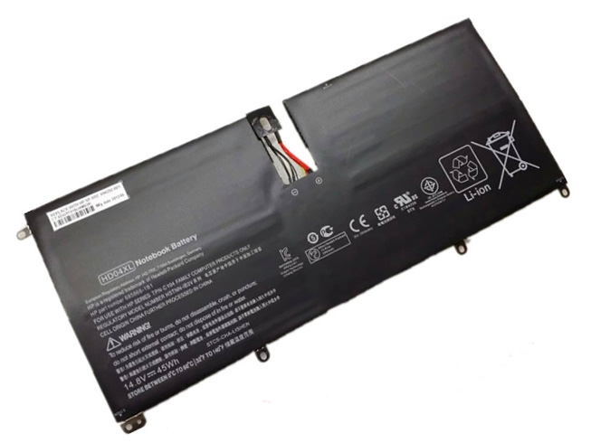 Аккумулятор / батарея (HD04XL) для ноутбука HP Envy Spectre XT 13 2120tu 13 2021tu 13 2000eg,14.8V 45WH