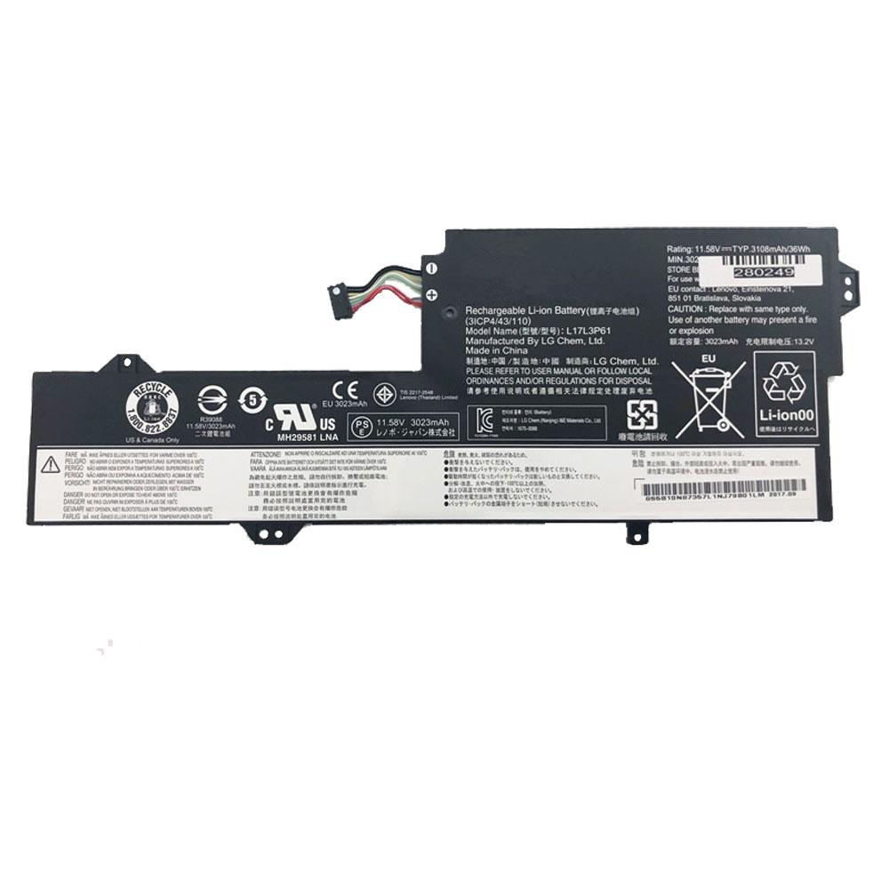 LENOVO L17L3P61 11.58V 3023mah/36Wh