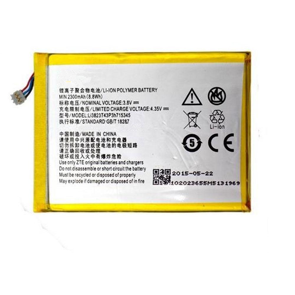 ZTE LI3823T43P3H715345 3.8V/4.35V 2300mAh/8.8WH