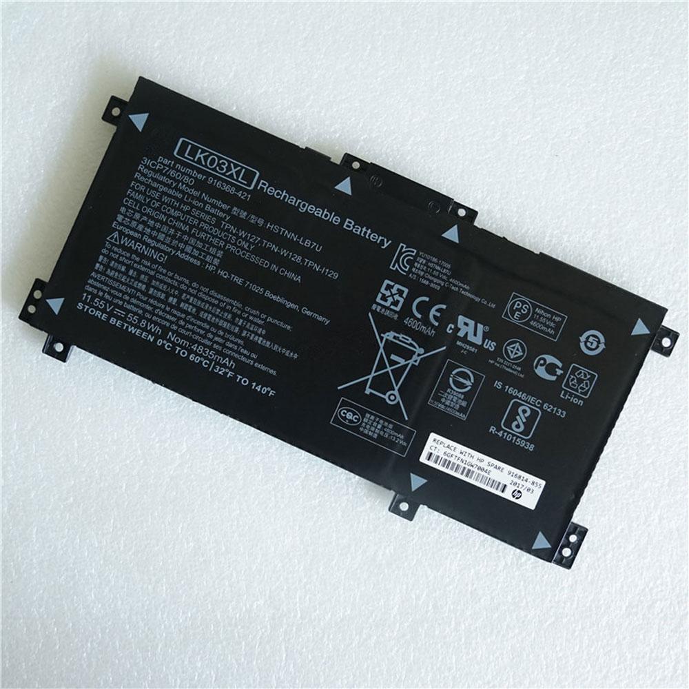 HP LKO3XL 11.55V 55.8Wh/4835mAh