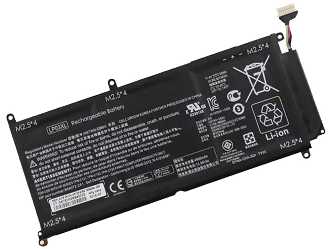 HP LP03XL 11.4V 55.5Wh/4680mAh