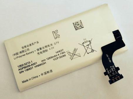SONY AGPB009-A001 3.7V 1265mAh