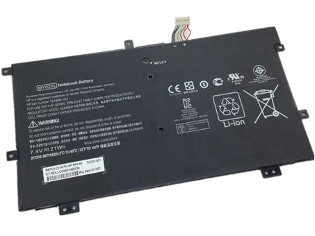 Аккумулятор / батарея (MY02XL) для ноутбука HP SLATEBOOK X2 10 H010NR 721896 1C1,7.4V 21WH