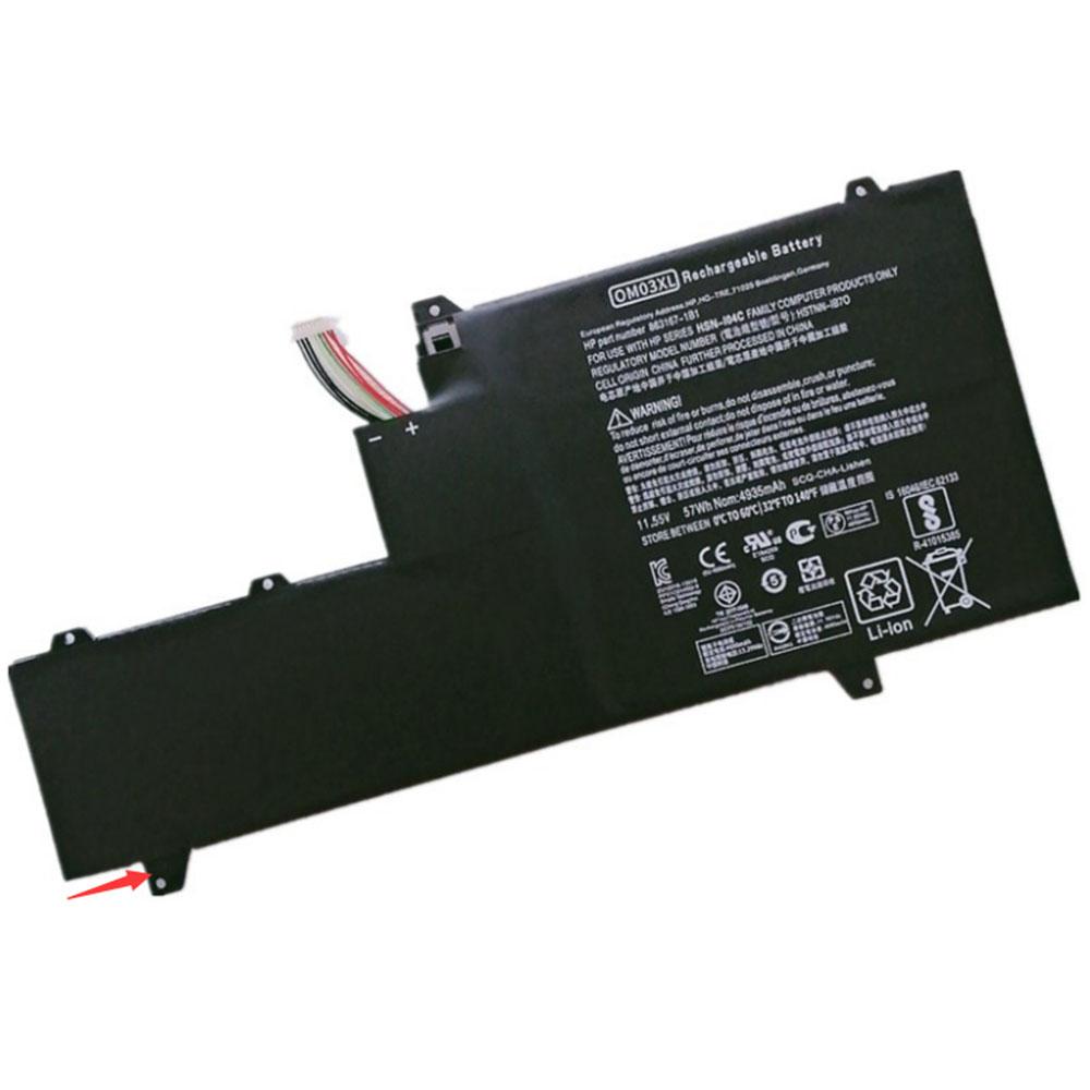 HP OM03XL 11.55V 57Wh