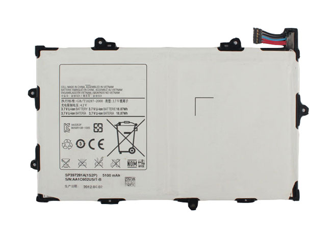 SAMSUNG SP397281A 3.7V 5100MAH/18.87Wh
