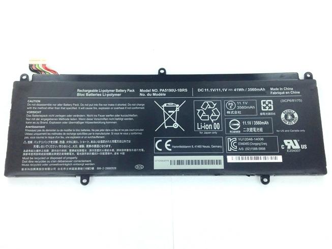 TOSHIBA PA5190U-1BRS 11.1V 3560mAh /41Wh