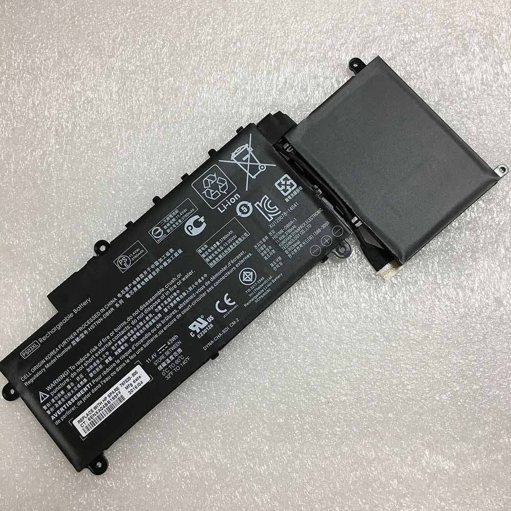 Аккумулятор / батарея (PS03XL) для ноутбука HP Stream x360 11 P 11 P010NR,11.4V 3720mAh 43Wh