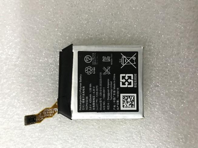 SONY GB-S10-353235-0100 3.8V 1.59Wh/420 mAh