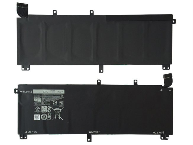 DELL H76MV 11.1V  61Wh/6cell