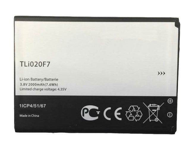 ALCATEL TLI020F7 3.8V/4.35V 2000MAH/7.6Wh