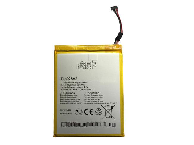 ALCATEL TLP028AD 3.75V/4.2V 2820MAH/10.6Wh