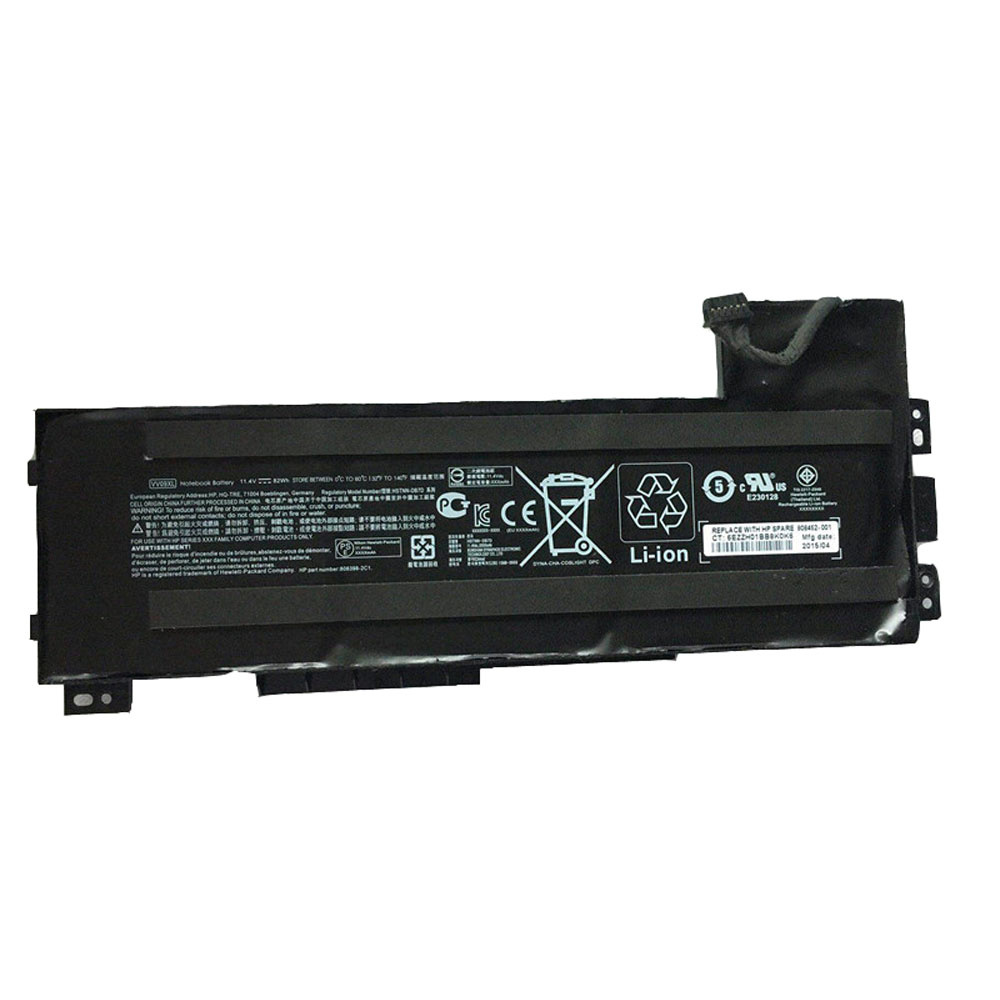 Аккумулятор / батарея (VV09XL) для ноутбука HP ZBook 15 17 G3,11.4V  90Wh