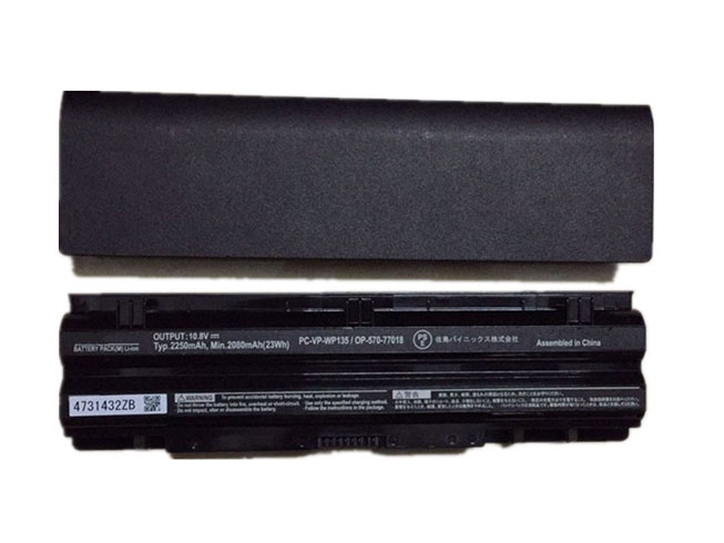 NEC PC-VP-WP135 10.8V 2250mah